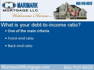 Know your debt-to-income ratio, and how it affects your ability to qualify for a home mortgage.