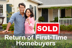 Return of First-Time Homebuyers, and the Affect of Falling Mortgage Rates