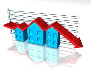 Housing market lower